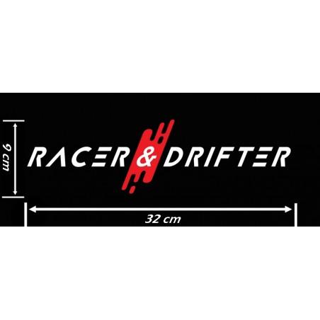 Sticker Racer & Drifter Taille M
