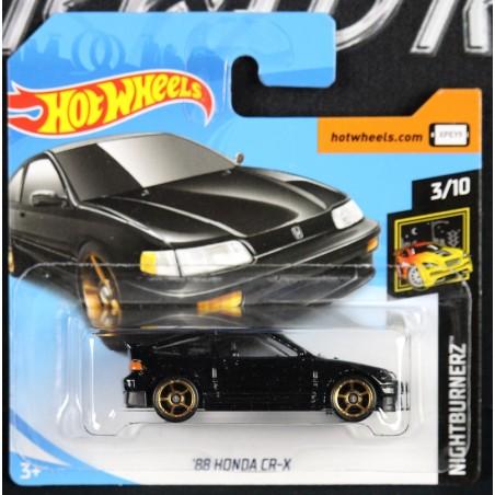 Honda CRX 1988 Noir Hot Wheels374