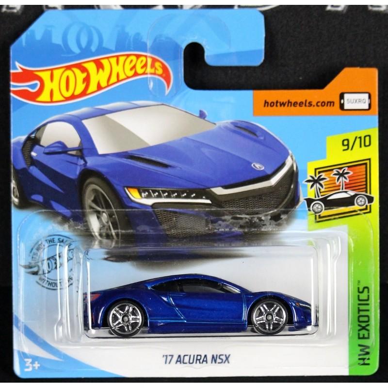 Acura (Honda) NSX Bleu 2017 Hot Wheels