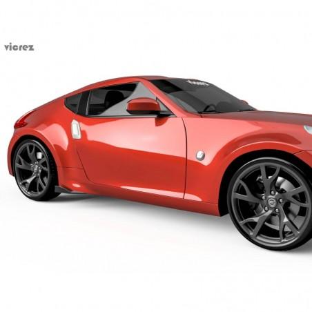 Nissan 370z 2009-2019 V3R Style Rocker Panel Side Winglets vz100950