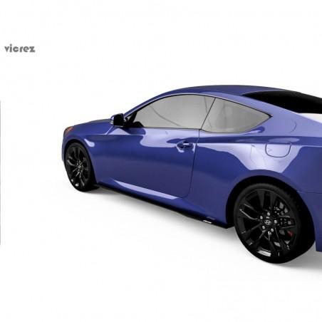 Hyundai Genesis Coupe 2010-2016 LV Style Lame de bas de caisses vz100951