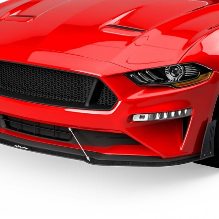 LV style Lame de pare-choc avant vz100957   Ford Mustang 2018-2020
