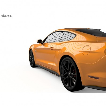 Ford Mustang 2018-2019 LV style Side Rocker Panel Splitter vz100958