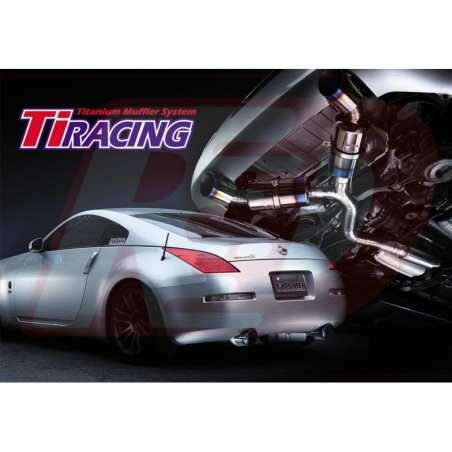 copy of Cat-back Invidia Gemini finition Chrome pour Nissan 350z