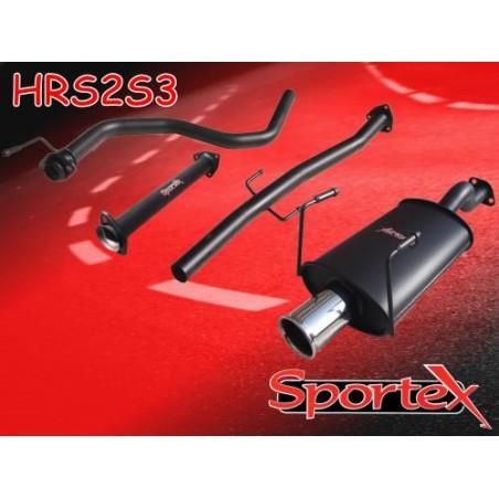 copy of Tue d'échappement Race de chez Sportex pour Honda Civic 1991-2000 HRP1