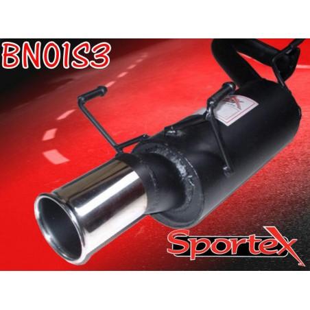 copy of Silencieux d'échappement Sortie S3 Sportex pour Nissan Micra K11E 1998-2002