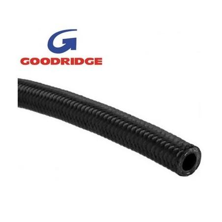 Flexible noir série 210 Goodridge vendu au mètre diamètre intérieur 8,71mm/ extérieur 14,22mm Dash 6