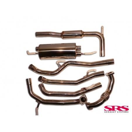 SRS échappement G600 Catback en inox pour Civic 07-12 3/5dr 1.8i Type-S