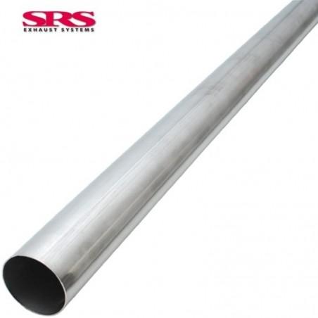 SRS échappements pipe round - Ø60.5mm/2.38'' universel