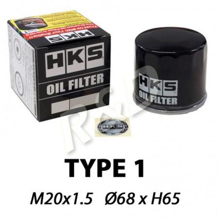 Filtre à huile HKS Type 1 68mm x H65mm  (M20x1.5) 52009-AK005