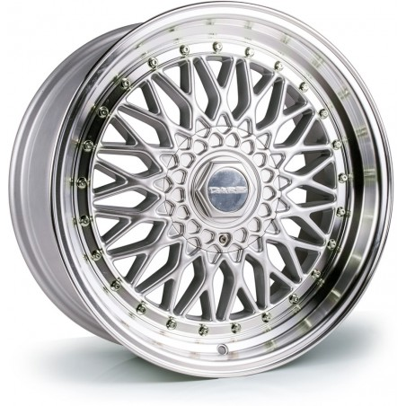 Dare DR RS (Silver Polished / Chrome Rivets) - 17x8,5 5x100, 5x120 ET35 CB72.6