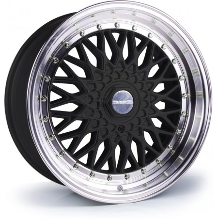 Dare DR RS (Gloss Black Polished / Chrome Rivets) - 17x7.5 4x100, 4x108 ET35 CB73.1